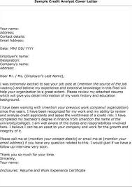 inspirational credit analyst cover letter sample 66 with