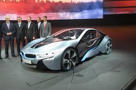 Bmw I8 Electric - bmw i8 ev supercar revealed automotorblog