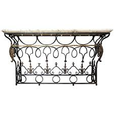 popular wrought iron outdoor furniture home design by fuller french marble top wrought iron balcony as a console table iron