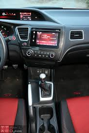 lexus sedan 2015 interior 2015 honda civic si sedan interior 004 the truth about cars