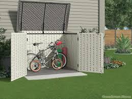 outdoor big plastic sheds keter bike storage garden sheds for