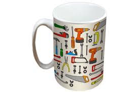 jayne diy tools limited edition designer mug and coaster gift set