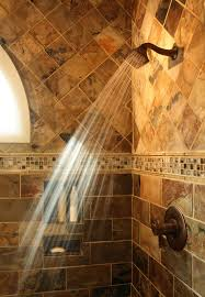 Slate Tile Bathroom Shower Slate Shower Tile Bathroom Traditional With Brizo Faucets Slate