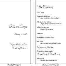 typical wedding program the bridesmaid s dress and traditional skirted wedding
