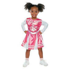 Halloween Costumes Cheerleaders Toddler Cheerleader Costume Ebay