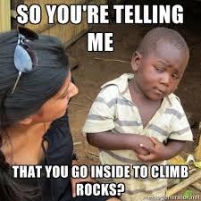 The Rock Gym Memes - rock gym memes memes pics 2018