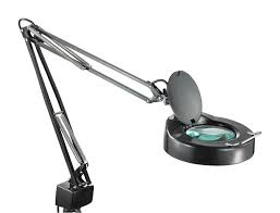 Desk Lamp With Magnifying Glass Magnifying Lamp With 5 Inch Lens Ma 1205ca B
