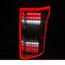 spec d tail lights d 15 17 ford f150 full led rear tail lights red smoked