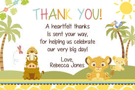 thank you notes for baby shower friendship what to write in a baby shower hostess thank you card