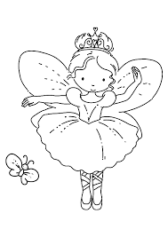 coloring pages kids ballet ballerina coloring pages