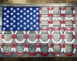 mexican horseshoes horseshoe wreath patriotic horseshoes american flag