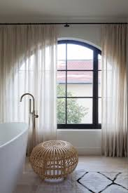 Bathtub Curtains Home Design Palladian Window With Free Standing Bathtub Also