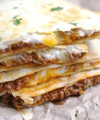 cheesy ground beef quesadillas meal ideas pinterest