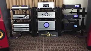 gershman accoustics speakers with passlabs amps very nice sound