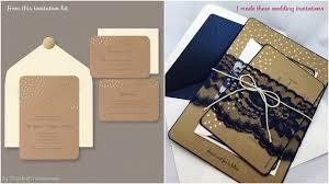 rustic wedding invitation kits diy wedding invitations my lace diy rustic wedding