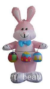 Outdoor Easter Bunny Decorations by Aliexpress Com Buy 8 Ft Rabbit Easter Bunny Inflatable With