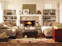 rustic pottery barn living rooms image of pottery barn living