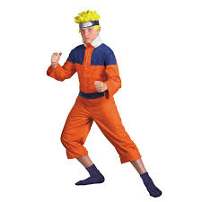 party city halloween costumes for kids boys boys deluxe naruto halloween costume size xl