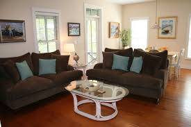 blue and brown home decor brown and blue living rooms wonderful home design