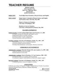 Resume For Teachers Job by Simple Basic Fresh Out Of Inspiration Pinterest