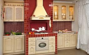 Red Black White Kitchen - kitchen astounding red kitchen wall with white kitchen cabinet