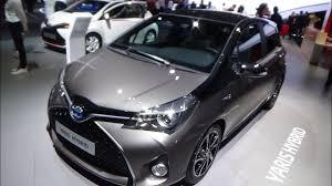 yaris 2017 toyota yaris hybrid exterior and interior paris auto show