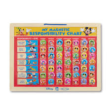 mouse clubhouse my magnetic responsibility chart by melissa u0026 doug