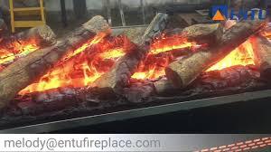 entu 3d water steam vapor automaztion embedded electric fireplace