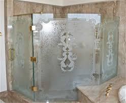 Shower Glass Door Parts Shower Glass Doors Bronze Door Handles Stylish Glass Frosted