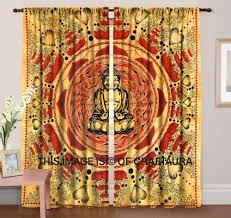 indian wholesaler mandala window treatment door cover drapes god