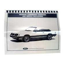 mustang book convertible top manual 1983 1993