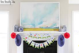 how to decorate for a birthday party at home transportation birthday party