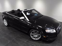 black audi convertible audi rs4 convertible for sale used cars on buysellsearch