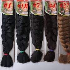 packs of kanekalon hair outre xpression kanekalon braid jjbraids