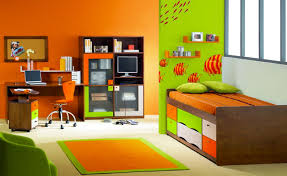 deco chambre orange chambre orange et vert waaqeffannaa org design d intérieur et