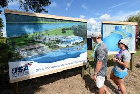 usa training center and water sports complex groundbreaking held