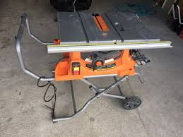 ridgid table saw r4513 parts ridgid r4513 heavy duty portable table saw tools machinery in