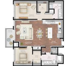 luxury open floor plans apartment luxury apartment floor plans 3 bedroom 3d open floor