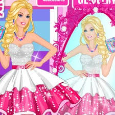 barbie shopping games