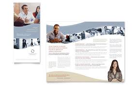 templates for business consultants business consulting tri fold brochure templates