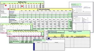 It Budget Template Excel It Budget Templates Budgeting Easier Plus A Special