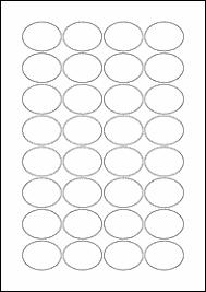 blank label template 40mm x 30mm oval blank label template maestro label designer