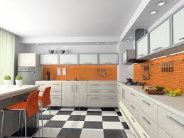 orange and white kitchen ideas modern orange kitchen cabinet ideas decorate orange kitchen