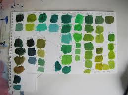 karen ilari painting green everything is green
