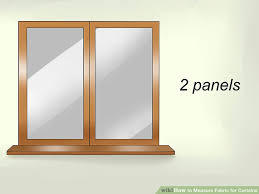 Curtain Size Calculator How To Measure Fabric For Curtains 11 Steps With Pictures