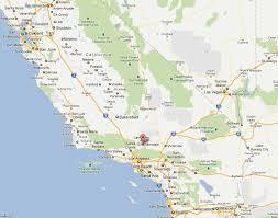 palmdale california map