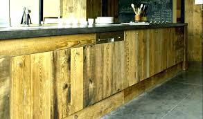 meuble cuisine bleu facade meuble cuisine bois brut facade meuble cuisine bois brut