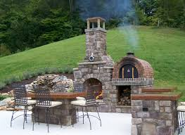 decor tips outdoor pizza oven for living space ideas and fireplace