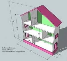 Doll House Plans Barbie Mansion by I Want To Make This Diy Furniture Plan From Ana White Com If You