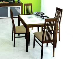Glass Topped Dining Table And Chairs Extendable Glass Dining Table Sets Aciarreview Info